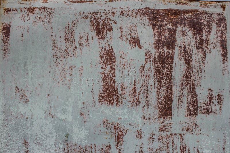 Rostiger Stahlblechhintergrund stockfotografie