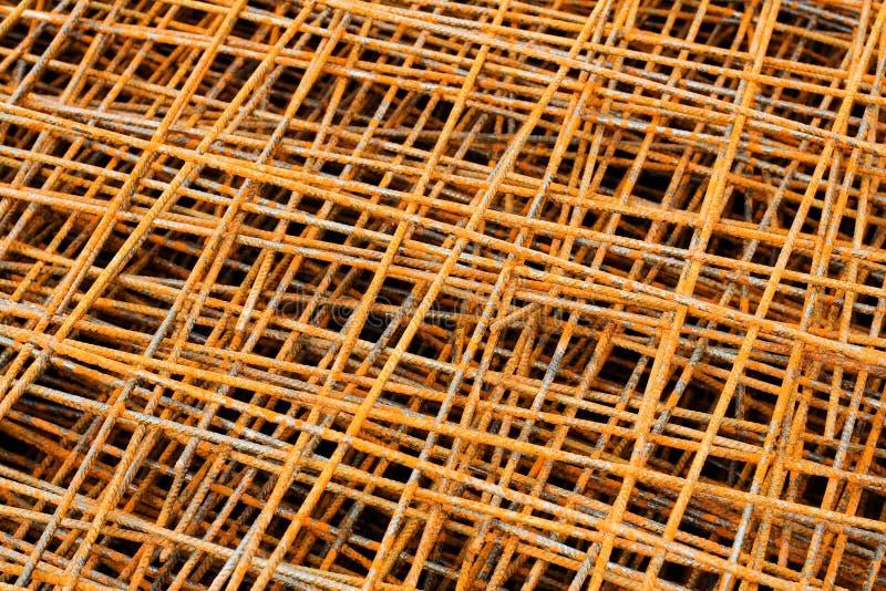 Rostiges Eisennetz lizenzfreie stockbilder