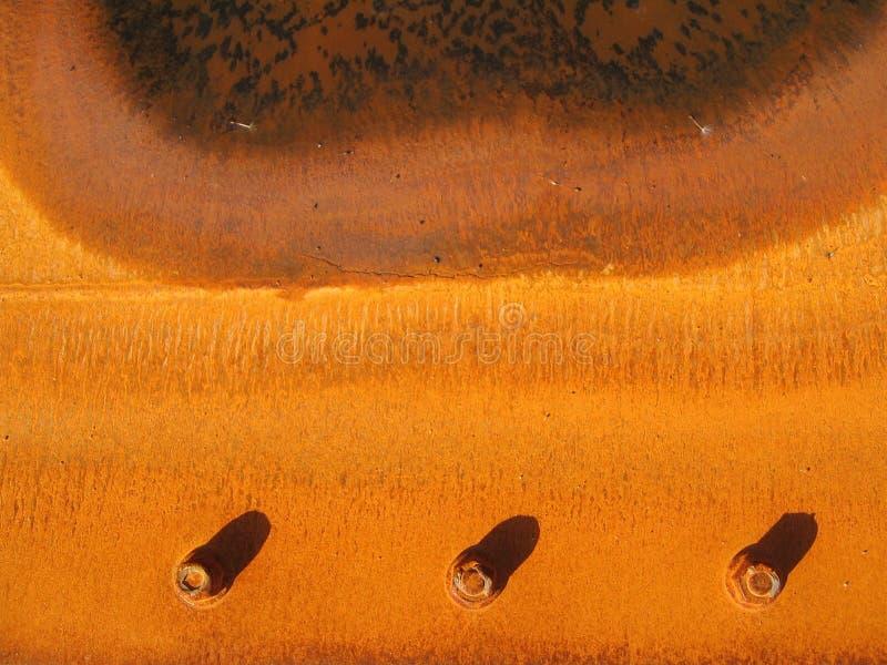 Rostiges Metall lizenzfreie stockfotos