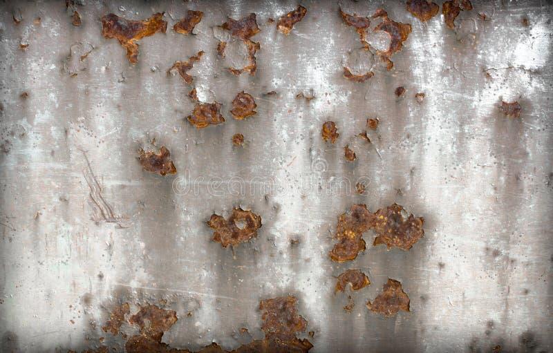 Rostiges Metall der Platte lizenzfreies stockbild