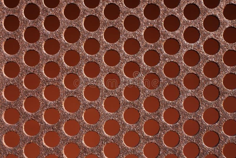 Rostiges Metall des Hintergrundmusters lizenzfreies stockbild