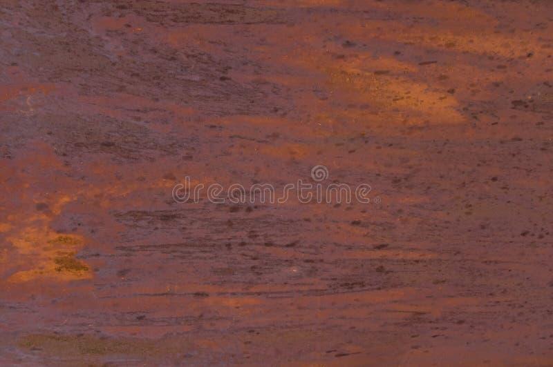 Rostigt metallark för bakgrund arkivfoto