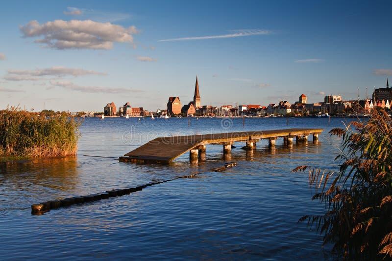 Rostock fotografia stock libera da diritti