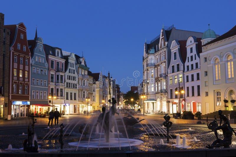 Rostock in Deutschland stockfotos