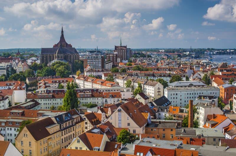 Rostock Duitsland royalty-vrije stock foto's