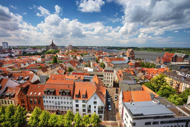 Rostock, Duitsland stock fotografie