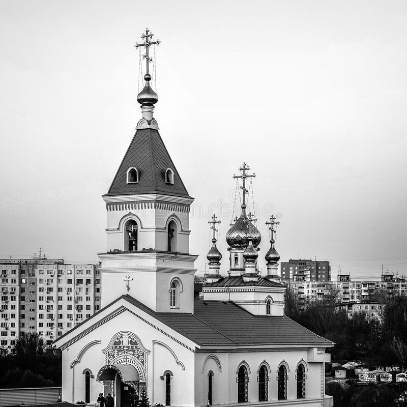 Rostov Don St Iver klasztor Kościół Iberyjska ikona obraz royalty free