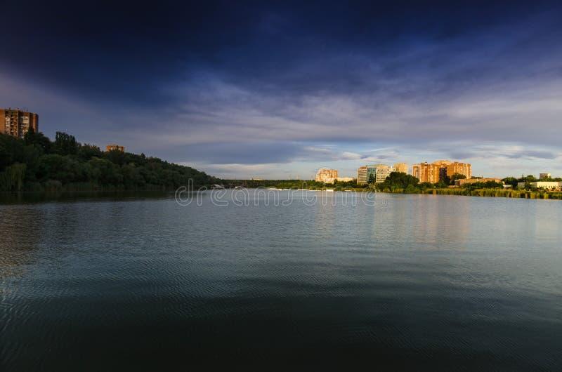 Rostov-On-Don, stagno del Nord di stoccaggio immagine stock libera da diritti