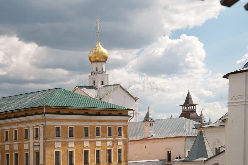 Rostov el grande en primavera foto de archivo