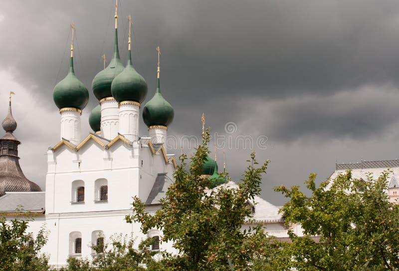 Rostov Groot, het Kremlin stock foto's