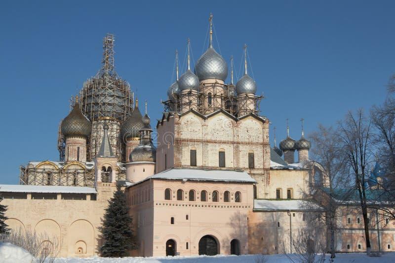Rostov Kremlin fotos de stock