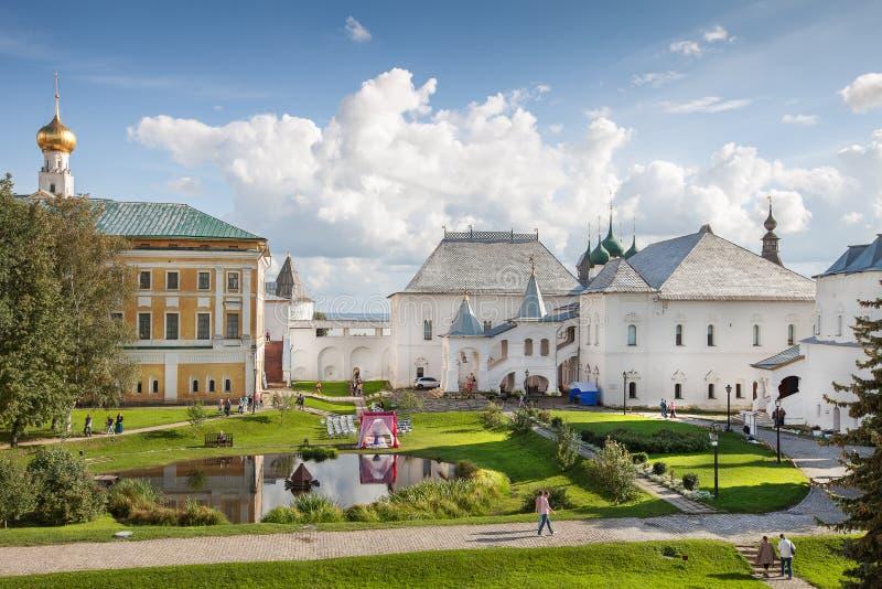 Rostov Kremlin, Russland stockbild