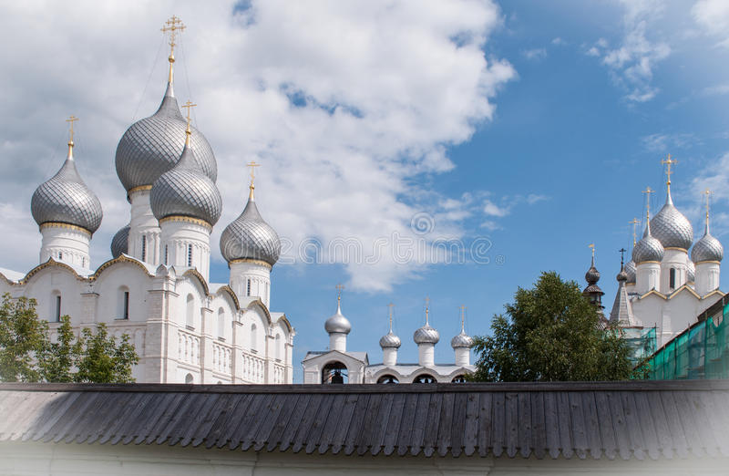 Rostov le grand, Kremlin photographie stock