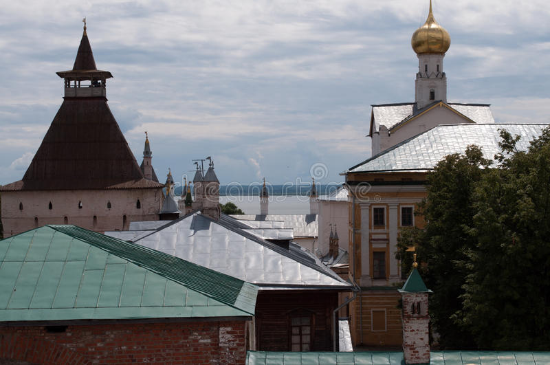 Rostov le grand, Kremlin photo stock