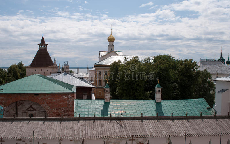 Rostov le grand, Kremlin images stock