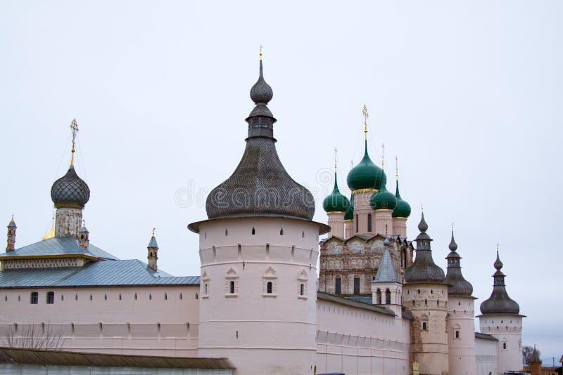 Rostov o grande. Kremlin imagem de stock