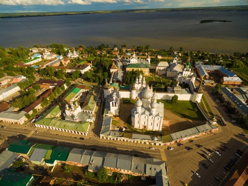 Rostov o grande kremlin imagens de stock