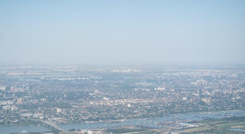 Rostov op Don, grote Russische stad stock foto's