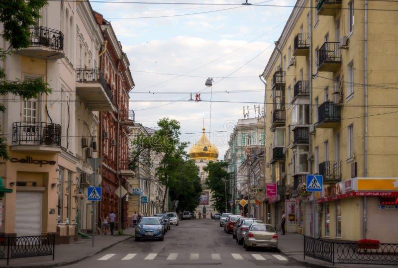 Rostov-op-trek aan stock fotografie