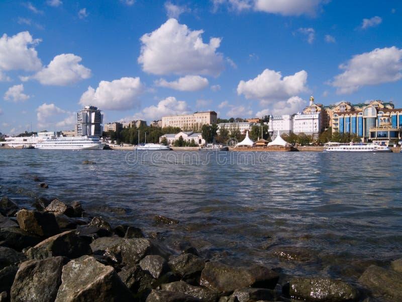 Rostov-op-trek aan royalty-vrije stock foto