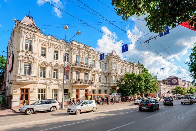 ROSTOV-OP-TREK AAN, RUSLAND - CIRCA JULI, 2016 stock foto