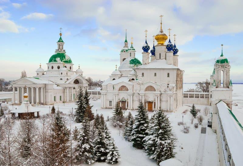 Rostov Veliky en invierno fotografía de archivo libre de regalías