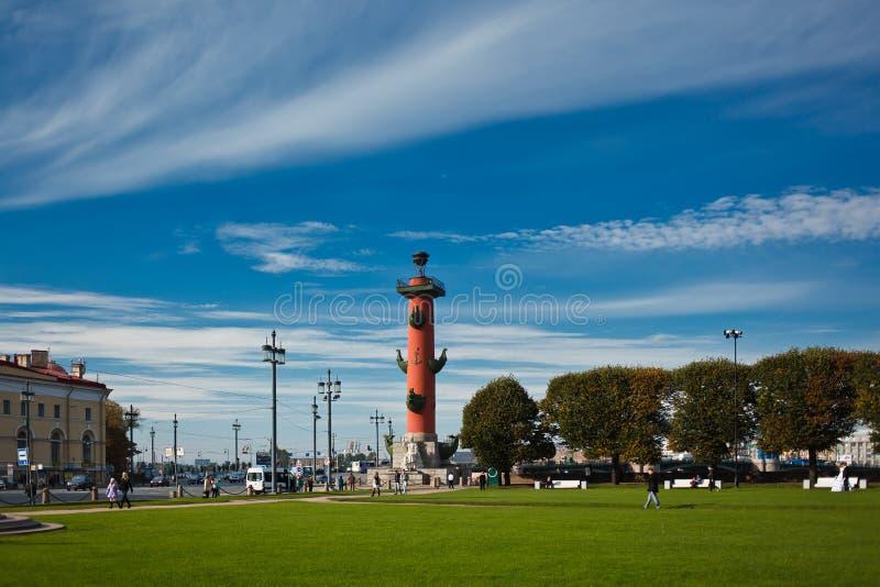 rostral kolonn fotografering för bildbyråer