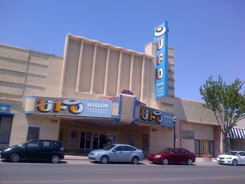 Roswell New Mexico ufo royaltyfri foto
