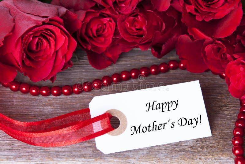 Rosy Background para o dia de mães imagens de stock royalty free