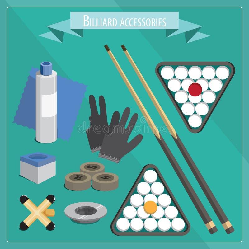 Rosyjscy billiards ilustracji