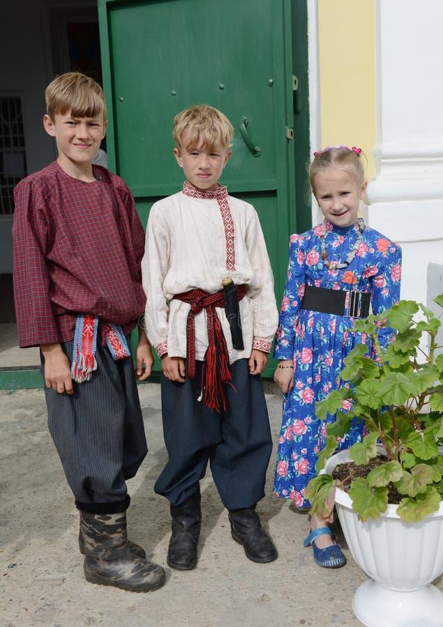 Rosyjscy dzieci zdjęcia stock