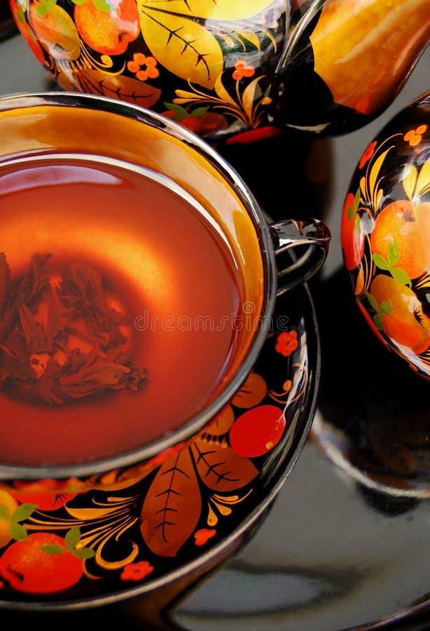 rosyjska herbata zdjęcia royalty free