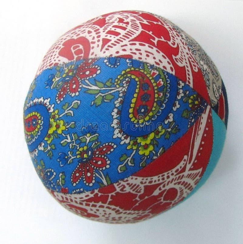 Rosyjska tekstylna piłka zdjęcia royalty free