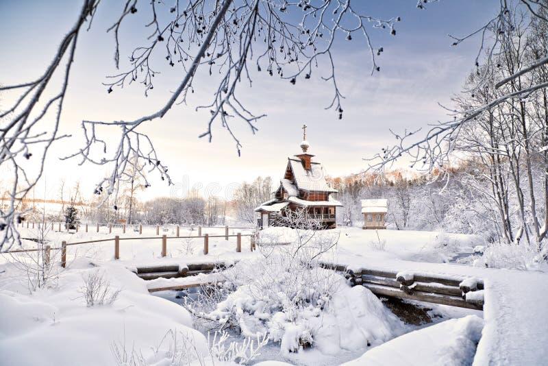 Rosyjska zima obrazy royalty free