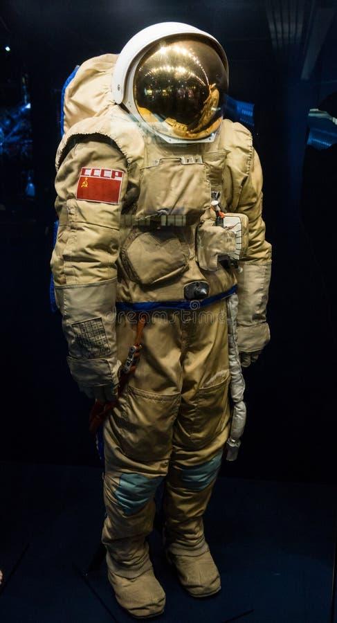 Rosyjski astronautyczny kostium zdjęcia stock