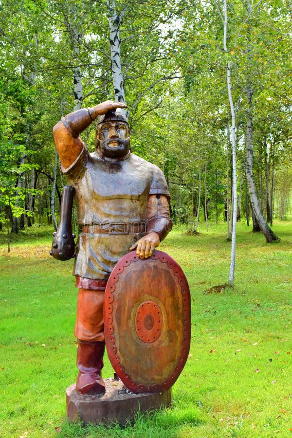 Rosyjski bohater Ilya Muromets zdjęcia stock