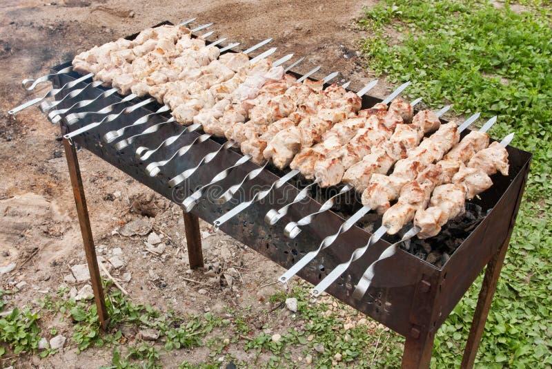 Rosyjski grill zdjęcia stock