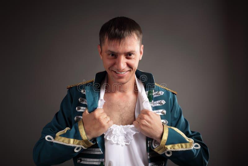 Rosyjski hussar zdjęcia royalty free