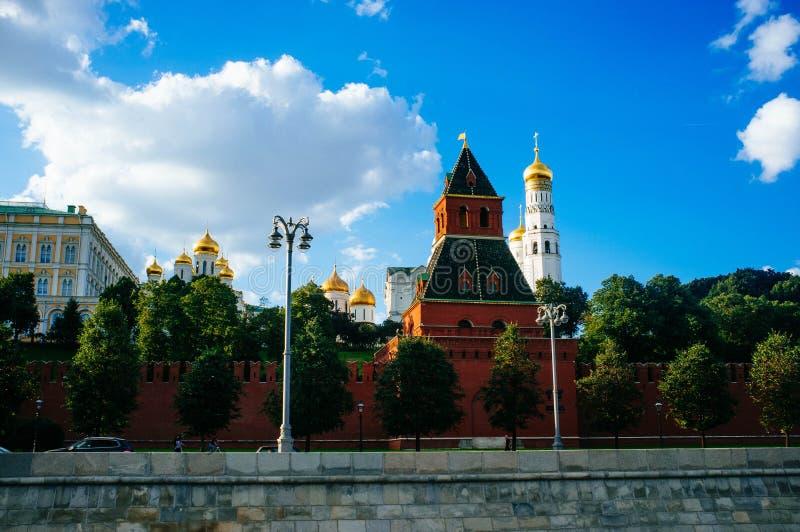 Rosyjski kraj ojczysty - Kremlin ściany fotografia royalty free