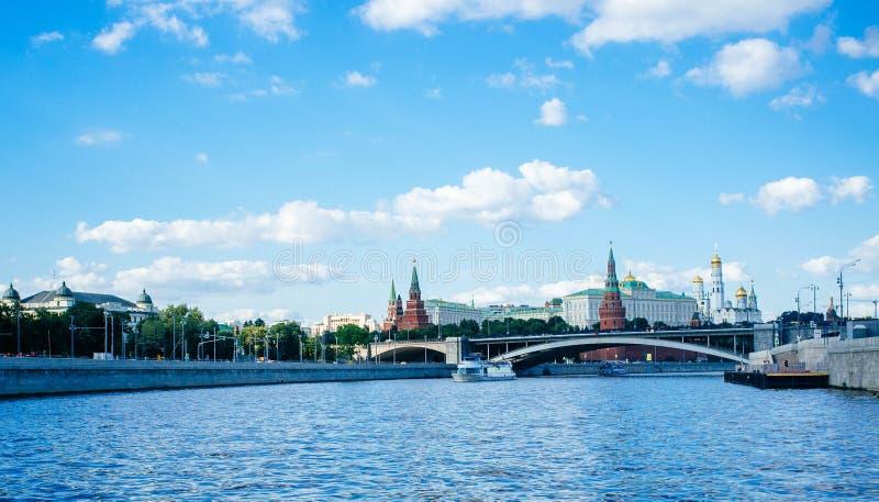 Rosyjski kraj ojczysty - Kremlin ściany 2 zdjęcie royalty free