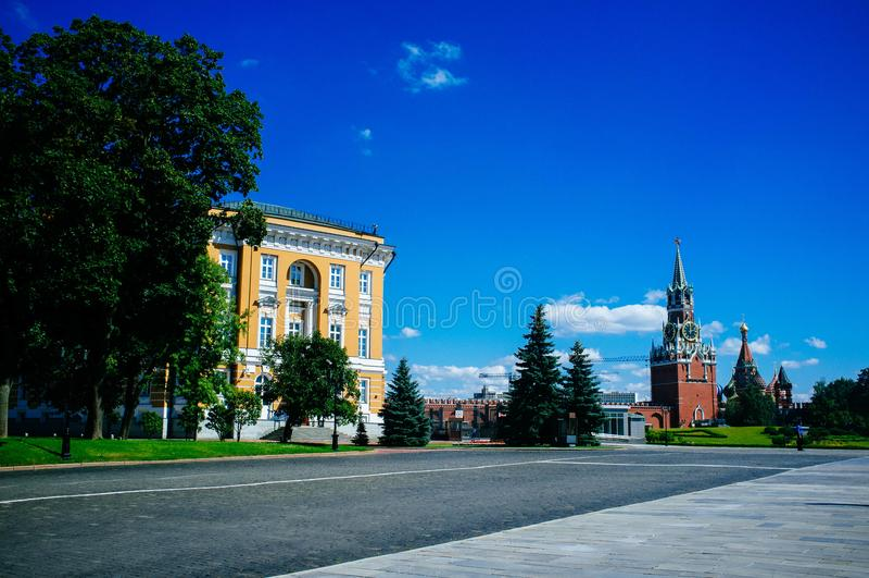 Rosyjski kraj ojczysty - Kremlin 2 obraz royalty free