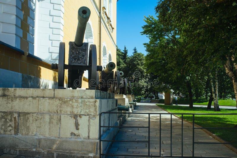 Rosyjski kraj ojczysty - Kremlowska zbrojownia zdjęcie royalty free