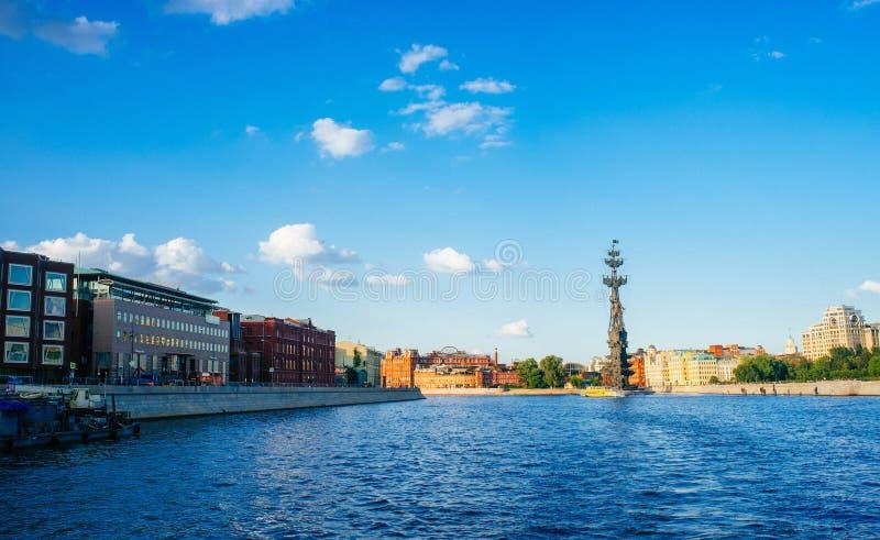 Rosyjski kraj ojczysty - Peter Wielki zabytek 2, Moskwa zdjęcie stock