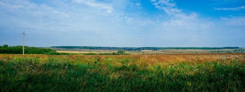 Rosyjski kraj ojczysty - Wiejski wsi Ural region zdjęcie stock