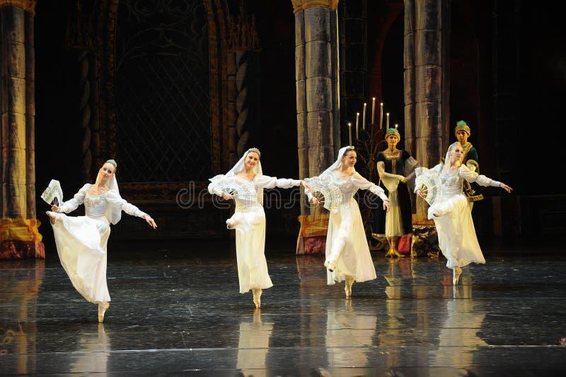 Rosyjski krajowy kostiumu książe prętowego mitzvah baleta Łabędź trzeci jezioro fotografia royalty free