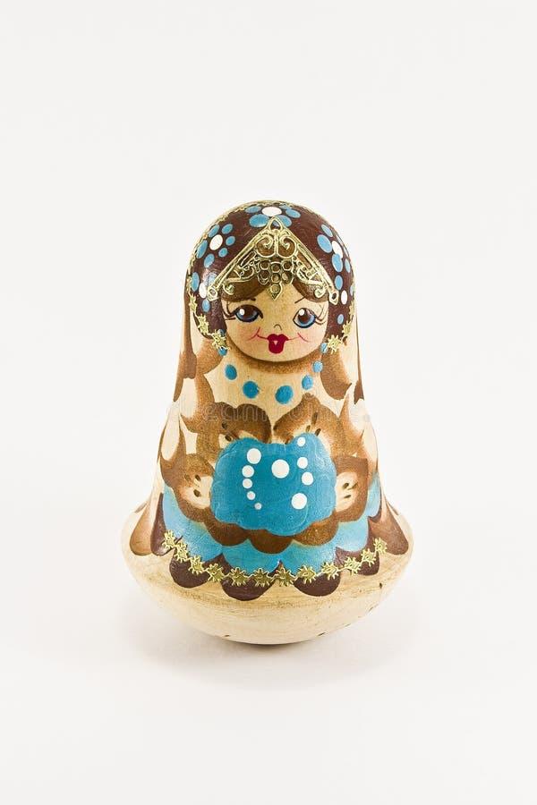 Rosyjski matryoshka - poli- zabawka obrazy royalty free