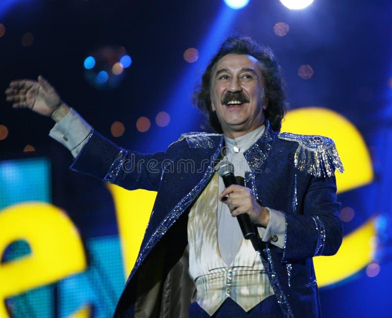 Rosyjski piosenkarz Farukh Zakirov zdjęcie royalty free