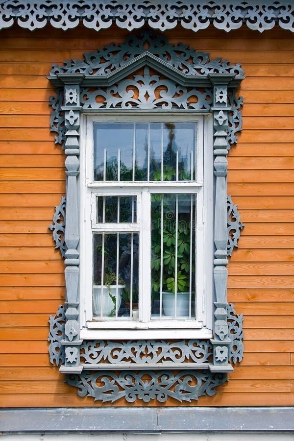 rosyjski tradycyjny okno obrazy royalty free