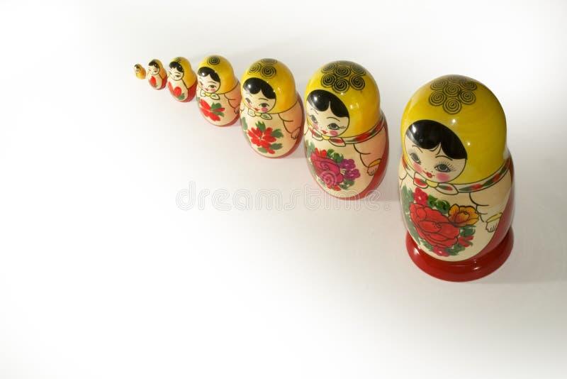 rosyjskie lalki. obraz stock