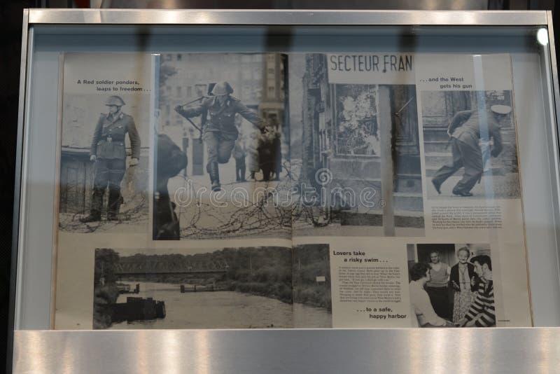 Rosyjskie zdjęcie żołnierza po II wojnie światowej, Dom Historii, Haus der Geschichte, Bonn, Niemcy obraz stock
